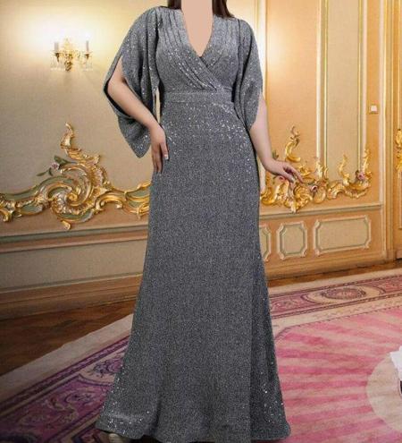 fashion1 model dress22 شیک ترین لباس های شب از جنس لمه