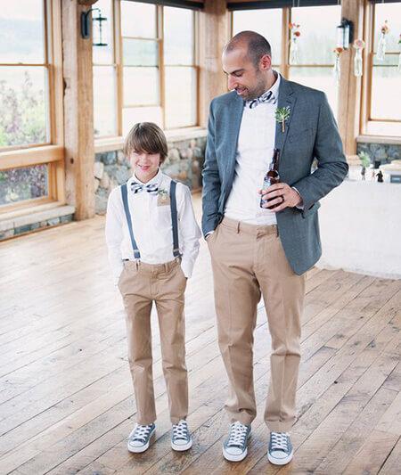 father1 son2 set11 مدل های شیک ست پدر و پسر