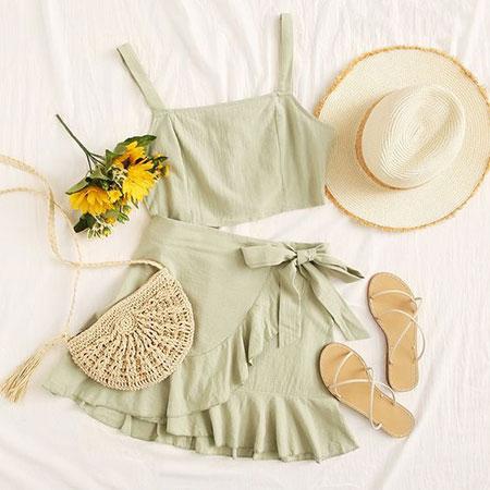 جدیدترین ست های لباس تابستانی,ایده هایی برای ست های لباس تابستانی