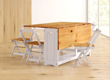 folding2 table2 chair4 شیک ترین مدل میز و صندلی تاشو