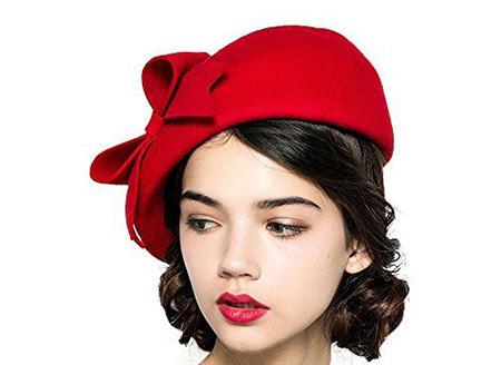 کلاه فرانسوی زنانه, مدل کلاه فرانسوی دخترانه
