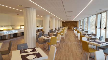 furniture3 chairs2 restaurant1 مدل مبل و صندلی برای رستوران ها