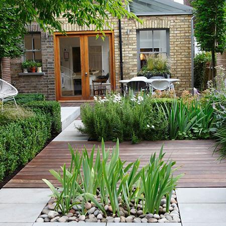 محوطه سازی باغ چگونه است, تغییر محوطه ی باغ, نحوه ی تغییر محوطه ی باغ