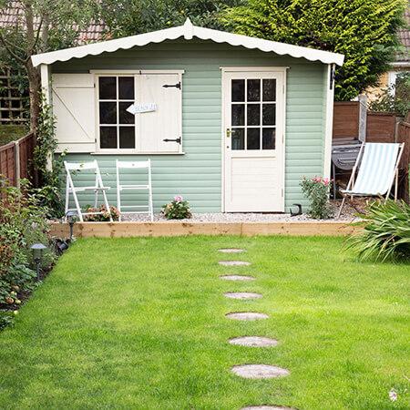 اصولی برای محوطه سازی باغ, محوطه سازی باغ چگونه است, تغییر محوطه ی باغ