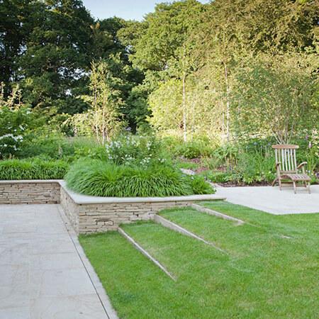 تغییر محوطه ی باغ,اصولی برای محوطه سازی باغ,روش های محوطه سازی باغ