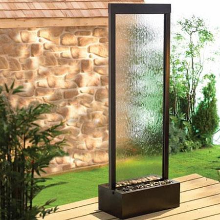 طراحی آبنماهای شیشه ای, مدل های آبنماهای شیشه ای