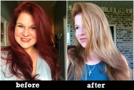 hair color remover 02 ریموور مو چیست و نحوه پاک کردن رنگ مو با ریموور