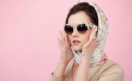 hairstyles scarves shawls 10 انواع مدل مو زیر شال و روسری
