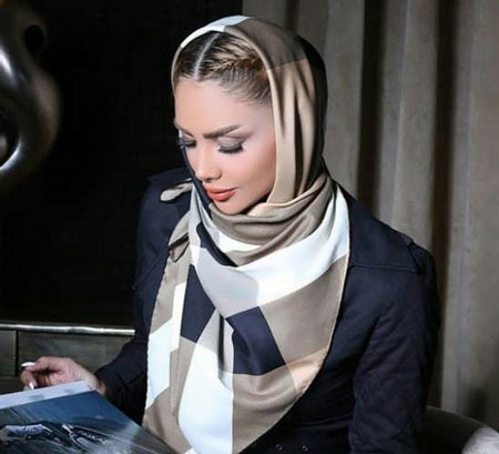hairstyles scarves shawls 12 انواع مدل مو زیر شال و روسری