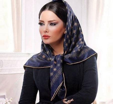 hairstyles scarves shawls 13 انواع مدل مو زیر شال و روسری