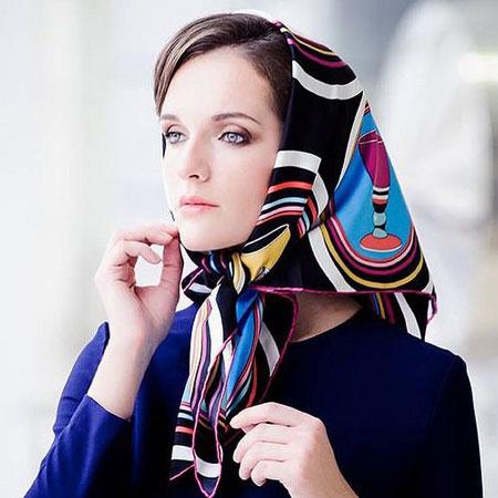 hairstyles scarves shawls 6 انواع مدل مو زیر شال و روسری