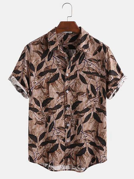 مدل پیراهن هاوایی, پیراهن هاوایی مردانه