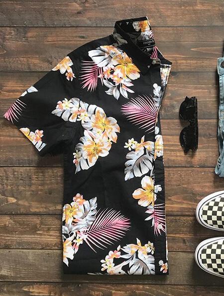 پیراهن های هاوایی رنگی, شیک ترین پیراهن های هاوایی