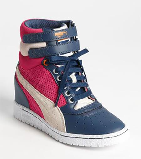 کفش اسپرت لژ دار زنانه,کفش لژ مخفی زنانه