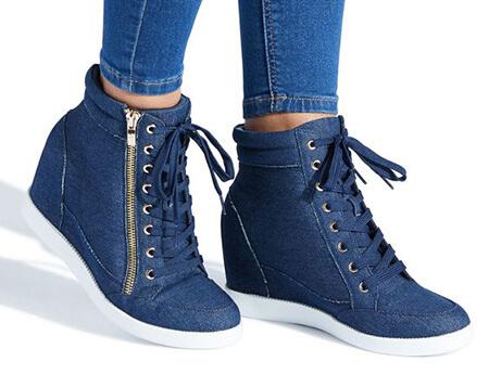 کفش اسپرت لژ دار زنانه,کفش اسپرت لژ مخفی