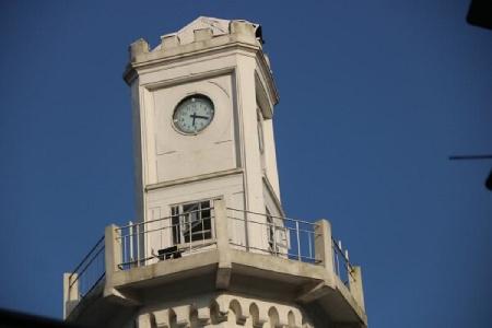 انزلی,تصاویر بندر انزلی,عکس برج ساعت انزلی