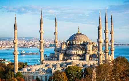 مکان های تاریخی ترکیه استانبول , بهترین مکان های تاریخی استانبول , مکان های مشهور ترکیه