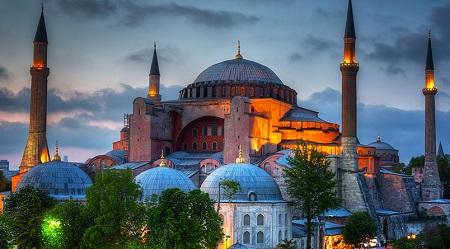 مکان های تاریخی بخش اروپایی استانبول, مکان تاریخی و دیدنی استانبول, جاهای دیدنی استانبول
