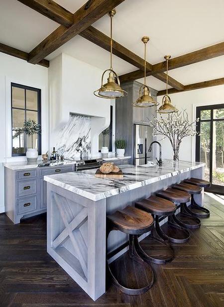 مدل جزیره و میز آشپزخانه,مدل میز جزیره اشپزخانه مدرن