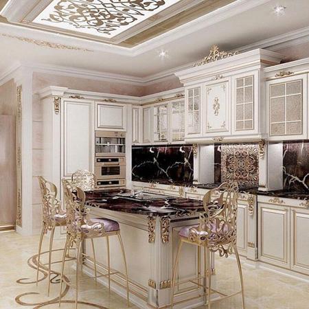 ایده هایی برای طراحی جزیره آشپزخانه,مدرن ترین جزیره آشپزخانه