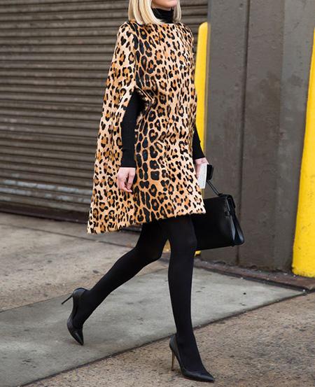 leopard1 coat2 model13 شیک ترین مدل های پالتو پلنگی
