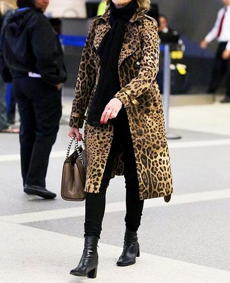 leopard1 coat2 model14 شیک ترین مدل های پالتو پلنگی