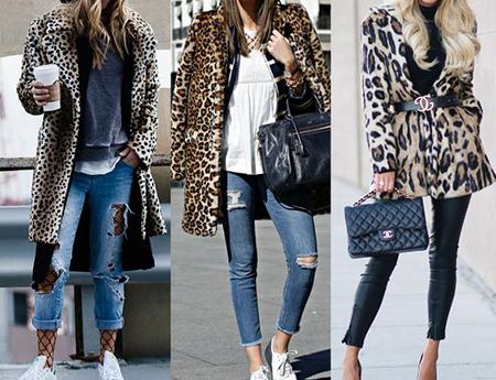 leopard1 coat2 model3 شیک ترین مدل های پالتو پلنگی
