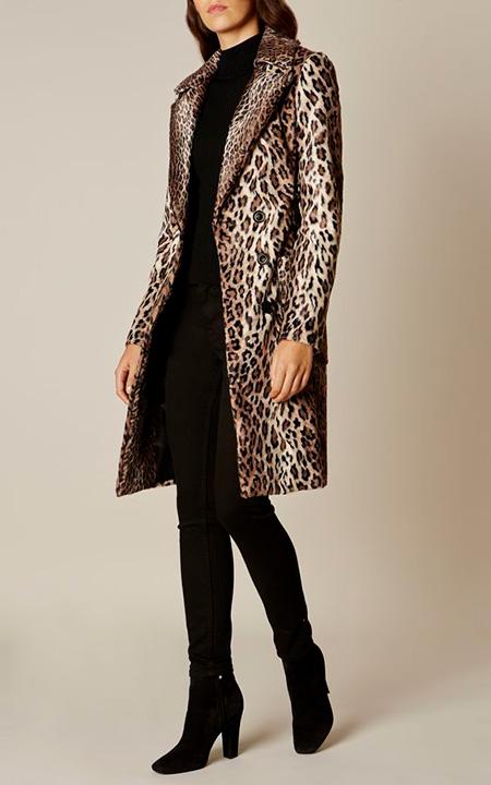 leopard1 coat2 model5 شیک ترین مدل های پالتو پلنگی