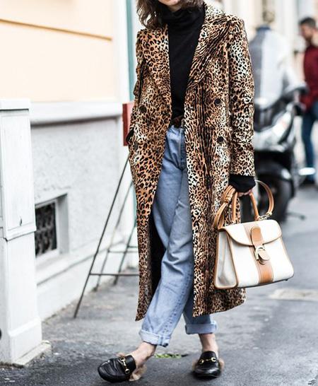 leopard1 coat2 model8 شیک ترین مدل های پالتو پلنگی