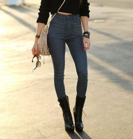 long2 crotch pants19 مدل شلوار فاق بلند زنانه