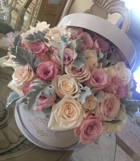 باکس گل های ویژه ی مراسم خواستگاری,باکس گل برای خواستگاری,جدیدترین باکس های گل خواستگاری