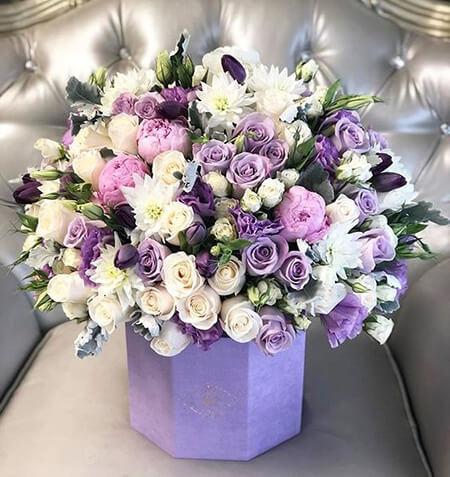 تزیینات باکس گل, شیک ترین باکس های گل مناسب مراسم خواستگاری, مدل های باکس گل برای خواستگاری
