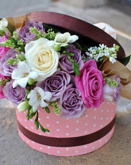 مدل های باکس گل مناسب مراسم خواستگاری, طرح های باکس گل برای خواستگاری, انواع باکس های گل برای خواستگاری