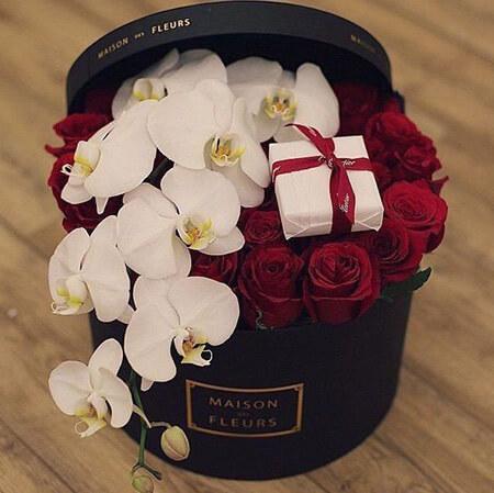 شیک ترین مدل باکس های گل خواستگاری, جدیدترین باکس های گل خواستگاری, ایده هایی برای باکس گل