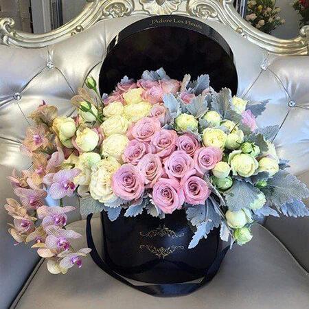 باکس گل مناسب خواستگاری, باکس گل های ویژه ی مراسم خواستگاری, مدل های باکس گل مناسب مراسم خواستگاری