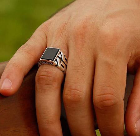 انگشترهای مردانه جدید,مدل انگشتر نقره مردانه,مدل انگشتر طلای مردانه