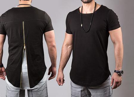 لباس مردانه و پسرانه,تیشرت لانگ مردانه