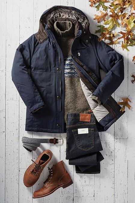 men1 winter2 set2 jacket1 ست زمستانی مردانه با کاپشن