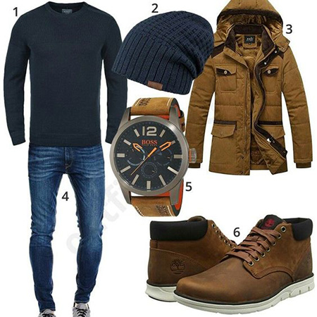 men1 winter2 set2 jacket10 ست زمستانی مردانه با کاپشن