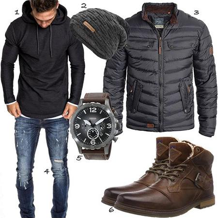 men1 winter2 set2 jacket12 ست زمستانی مردانه با کاپشن