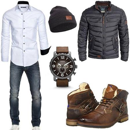 men1 winter2 set2 jacket13 ست زمستانی مردانه با کاپشن