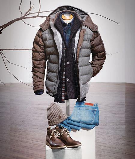 men1 winter2 set2 jacket7 ست زمستانی مردانه با کاپشن