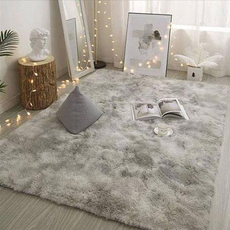 فرش خزدار,فرش پرزدار