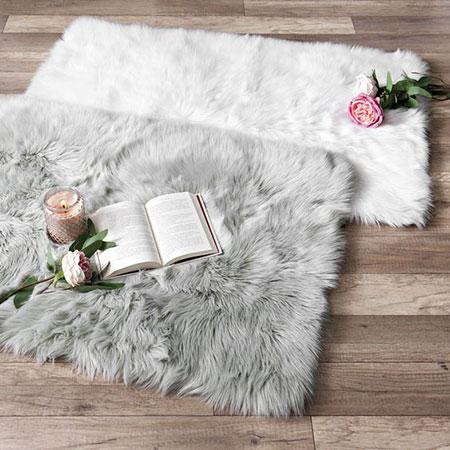 قیمت فرش خزدار,گلیم فرش پرزدار
