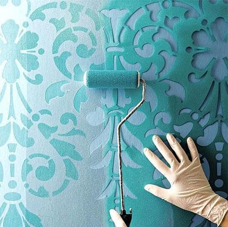 mo129 جدیدترین نمونههای نقاشی دیوار