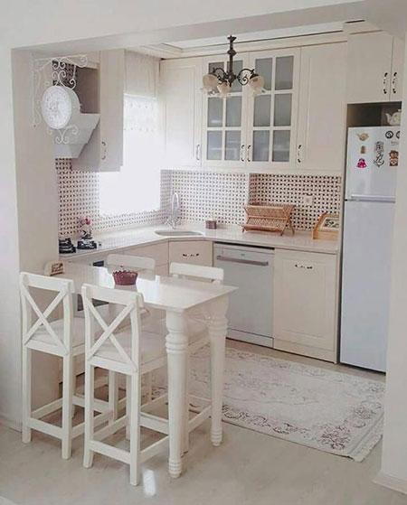 شیک ترین مدل آشپزخانه کوچک,جدیدترین مدل آشپزخانه کوچک