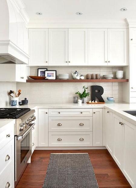 طراحی شیک آشپزخانه های کوچک,ایده هایی برای طراحی آشپزخانه های کوچک