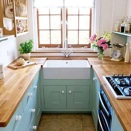 دکوراسیون آشپزخانه های کوچک,دکوراسیون و چیدمان آشپزخانه های کوچک