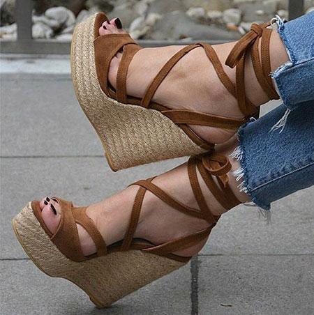کفش تابستانی پاشنه دار زنانه,مدل های کفش تابستانه