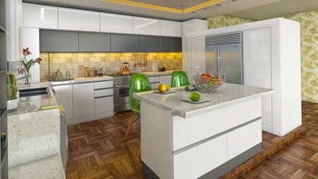 شیک ترین کابینت آشپزخانه,کابینت شیک آشپزخانه